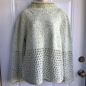 Sigrid Olsen Gifted Artisan Oversized Sweater NWT